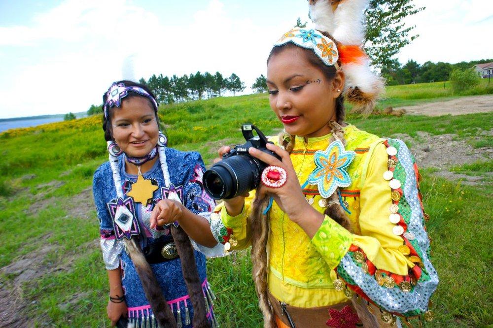 Living Histories - Digital Storytelling in Nett Lake Village