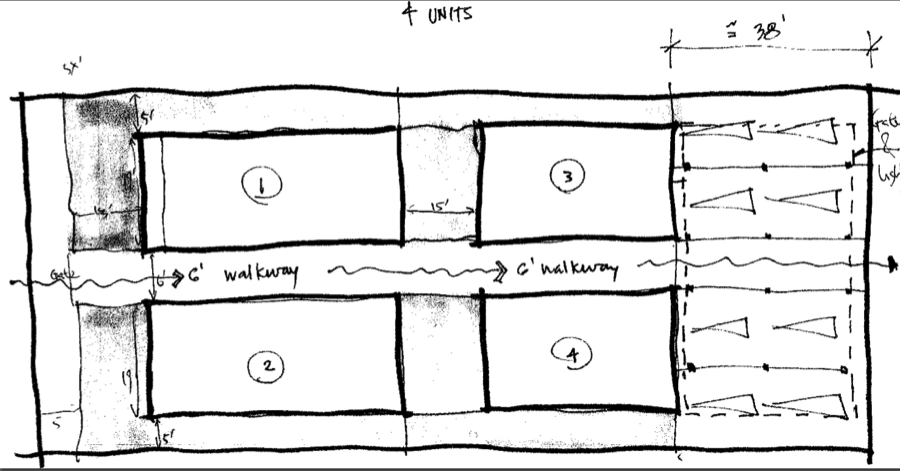 Sample Site Layout from Zoning Analysis