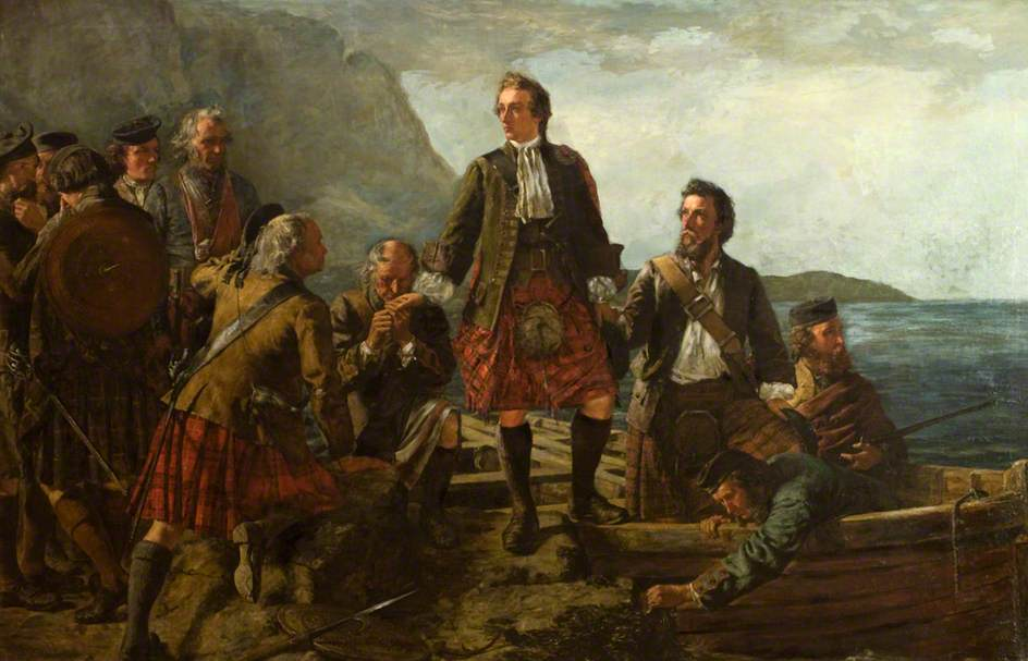 The leaving of Lochaber