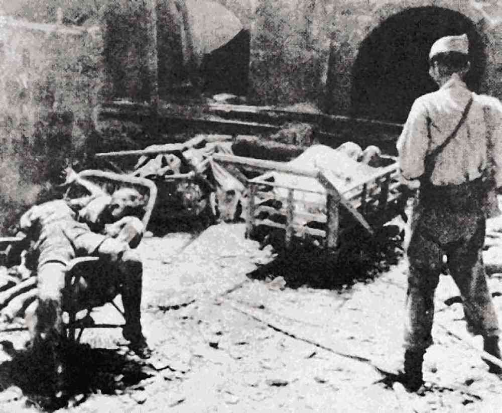THE BATTLE of Manila left the city in total devastation and killed 100,000 Filipino civilians. Photo courtesy of Albert Montilla
