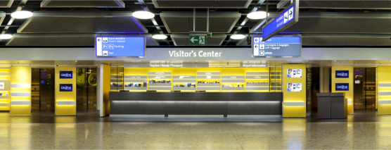 visitor's center airport