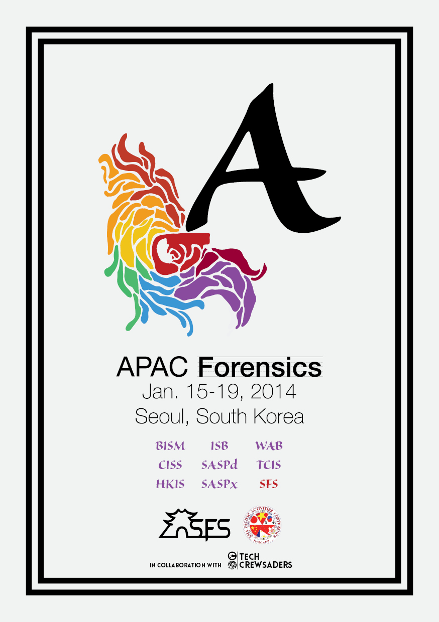 APAC Forensics Program Booklet Cover