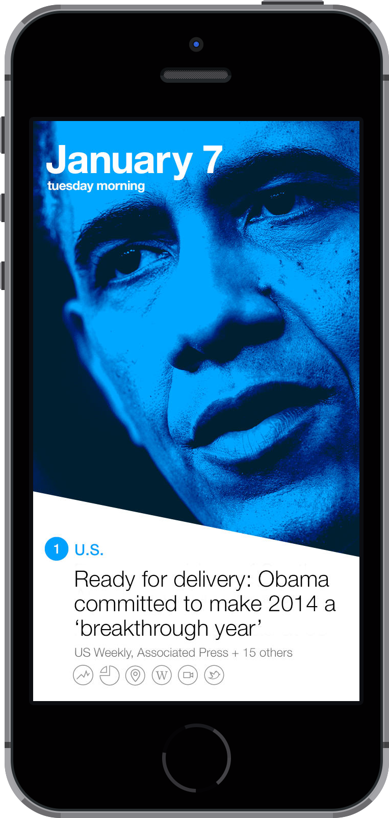 The new Yahoo News Digest app