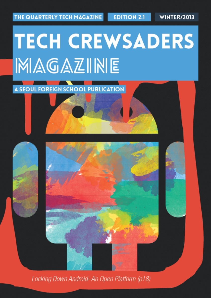 Tech Crewsaders Magazine Winter 2013 Issue