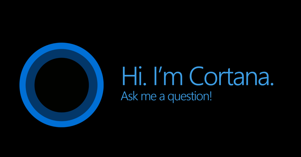 Cortana, the voice commanding system