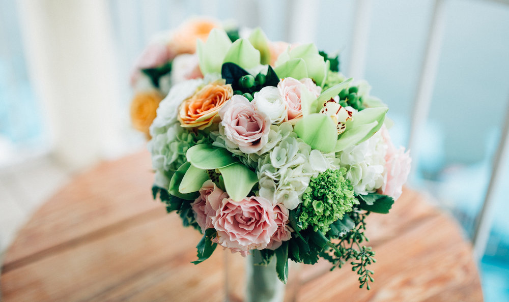 WEDDING BOUQUET - ANY BRIDE WILL TELL YOU THAT THERE IS NOTHING MORE IMPORTANT AT THE WEDDING AS HER FLOWERS!