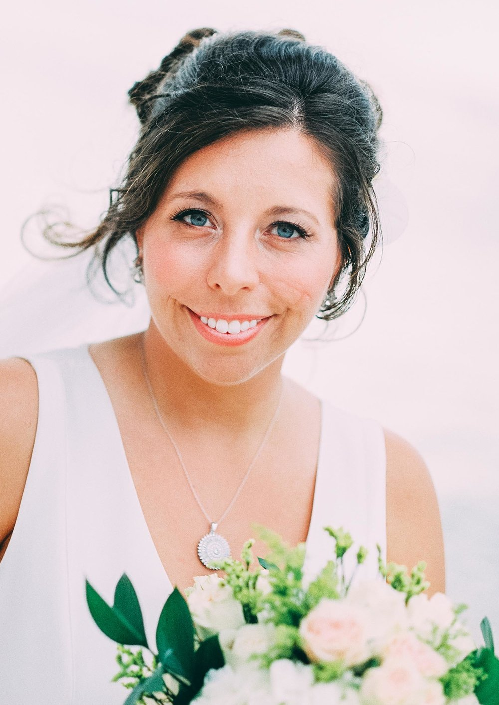 Bride portrait, Key West wedding