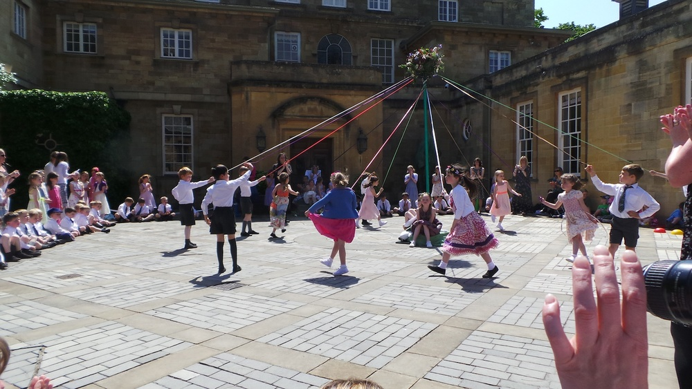 Summer Maypole Dancing