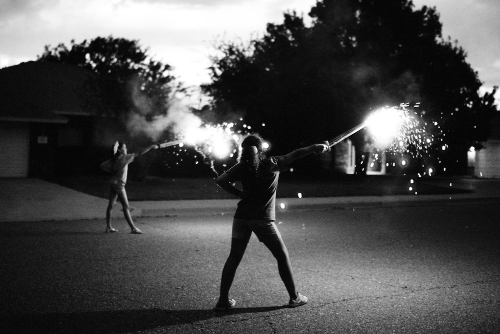 4th-of-July-street-sparkler-swords-New-Mexico