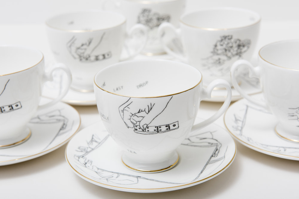 Getting To Know You tea cups…