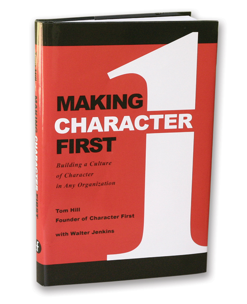 """Making Character First "" (188-pages) in Hardback, Paperback, and Kindle."