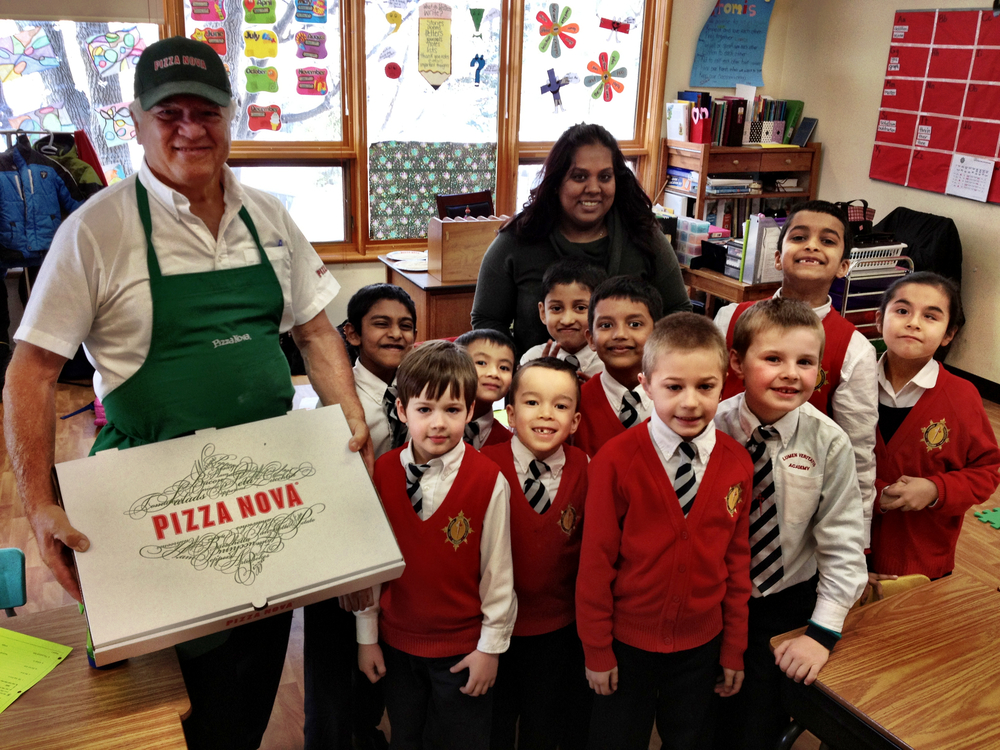 Pizza making classes, kindness of Pizza Nova