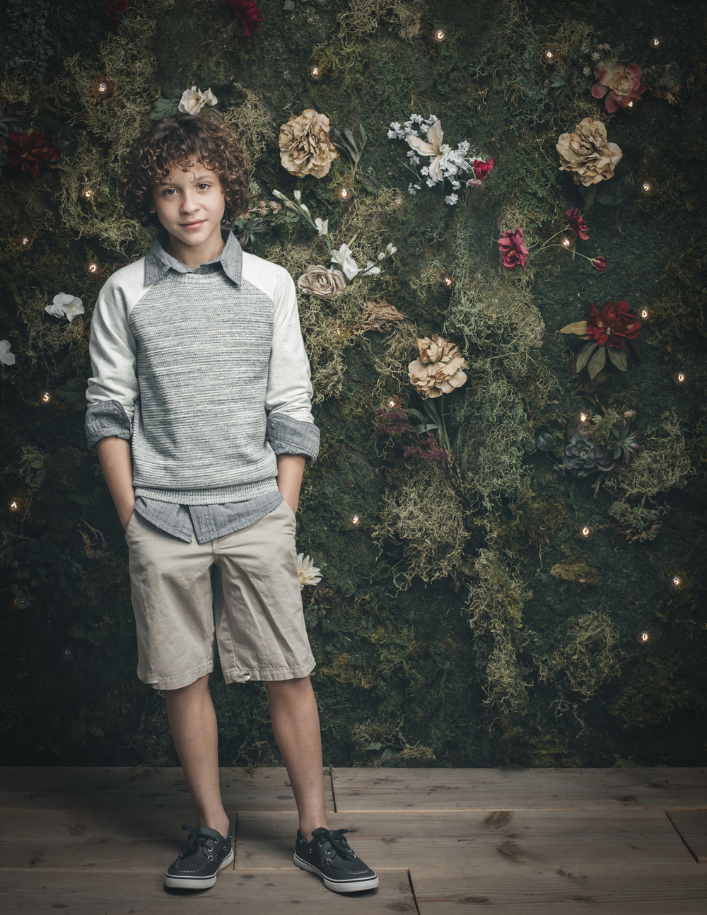 Kids fashion editorial