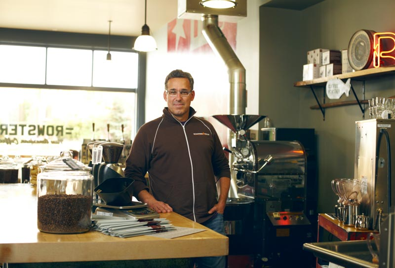 Kurt Stauffer of Rowsters Coffee