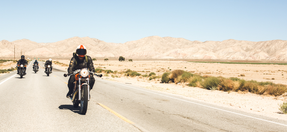 Desert motorcycle ride - The Skulls - theskulls.co