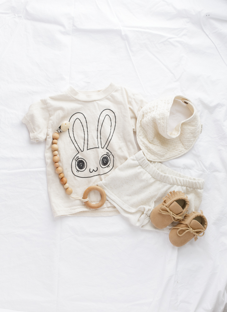 Kids neutral flatlay - theskulls.co