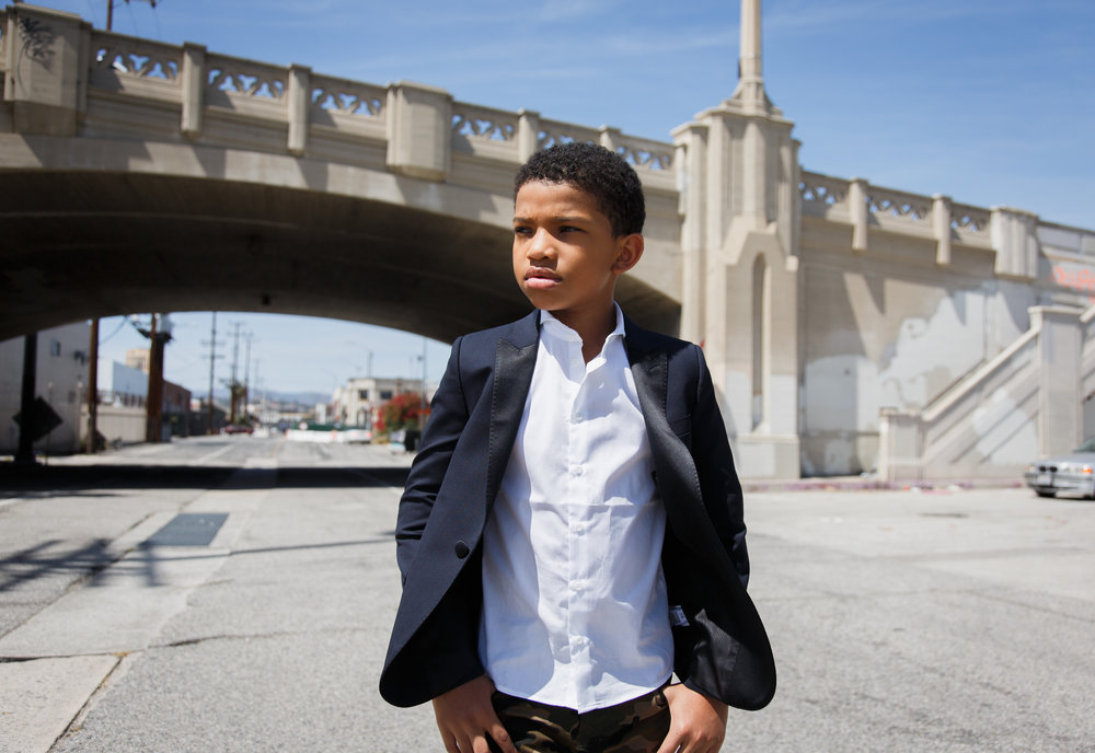 Lonnie Chavis from This Is Us for Posh Kids Magazine
