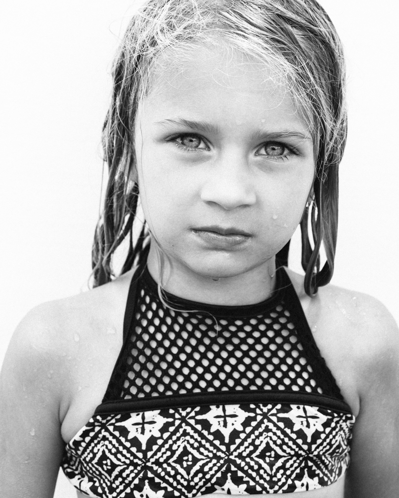 young girl in swimsuit - portrait by Ryan Pavlovich Photography
