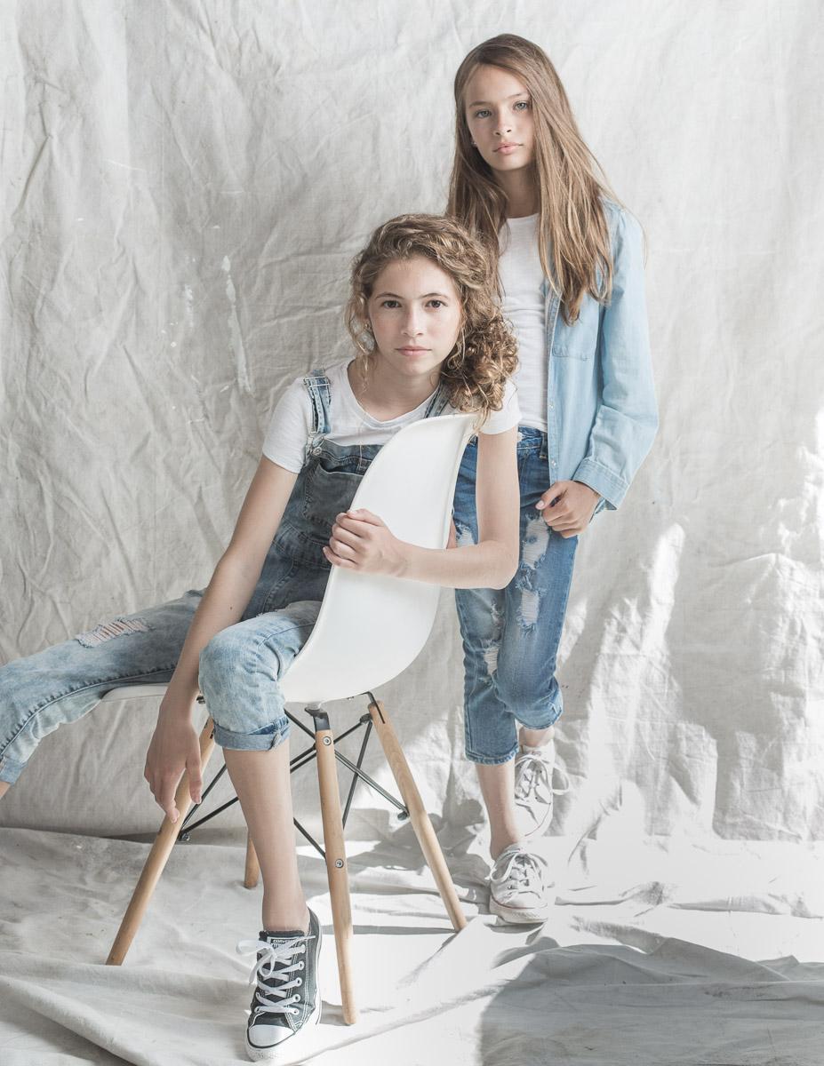 Model: Prince Sisters  Agency: LA Models Youth  Hair and Makeup: Renee Loiz