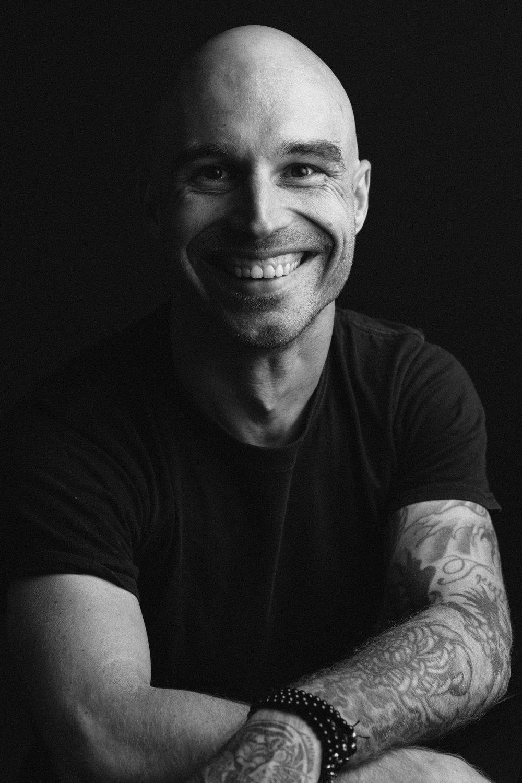 Portrait of Brandon Satterlee by Ryan Pavlovich Photography