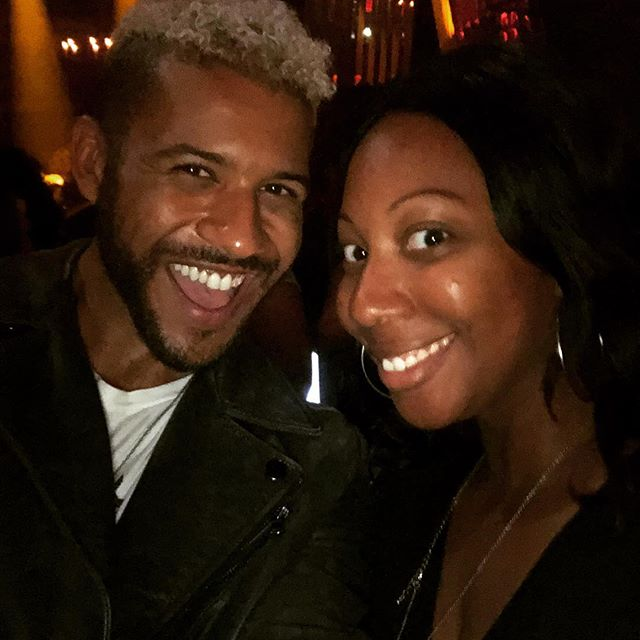 Ran into @jeffreybchapman at the party... love him on @unrealtv be sure to tune into the new season on Lifetime #fortitudepr