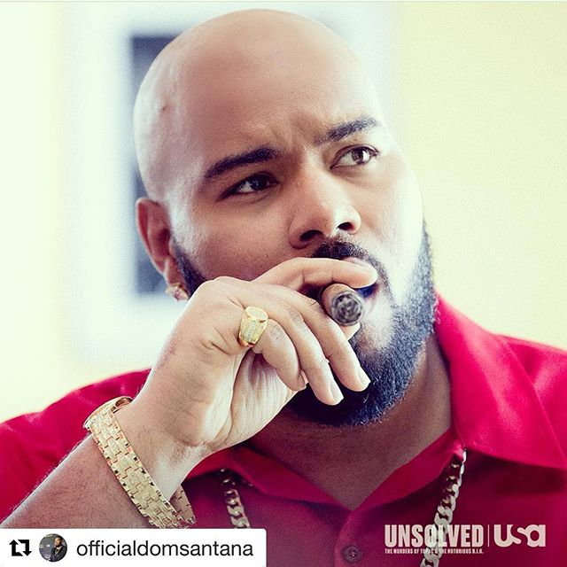 TONIGHT!!! Our client Dominic makes his entrance on @unsolvedusa only on @usa_network at 10p...... Repost @officialdomsantana ・・・ Come ride with the boss tonight on #unsolvedusa watch me portray the infamous #deathrow CEO #sugeknight I will be going live on #instagram as well as tweeting with fans @ DominicSantana on #twitter #unsolvedusa #dominicsantana #fortitudepr