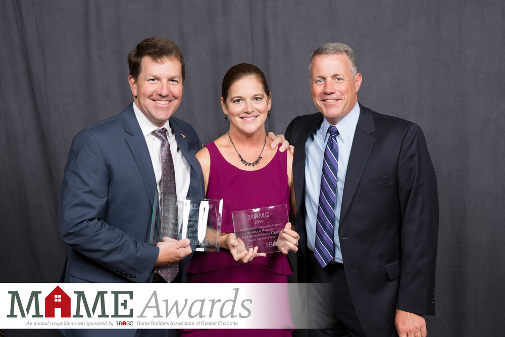 2017 MAME Awards - GOLD: Best Custom HomeSILVER: Best Community Amenity