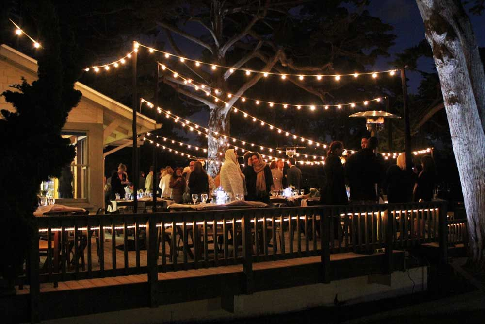 Patio Lighting - Market Lights | String Lights are the perfect accent to an outdoor space.  They provide a classic nostalgic touch while illuminating an area that may once have been dark and uninviting.  Or, perhaps you are planning a party and not only would enjoy lighting for that event but also year around.  At Colorado Christmas Lights we have many patio lighting options for your home or business.
