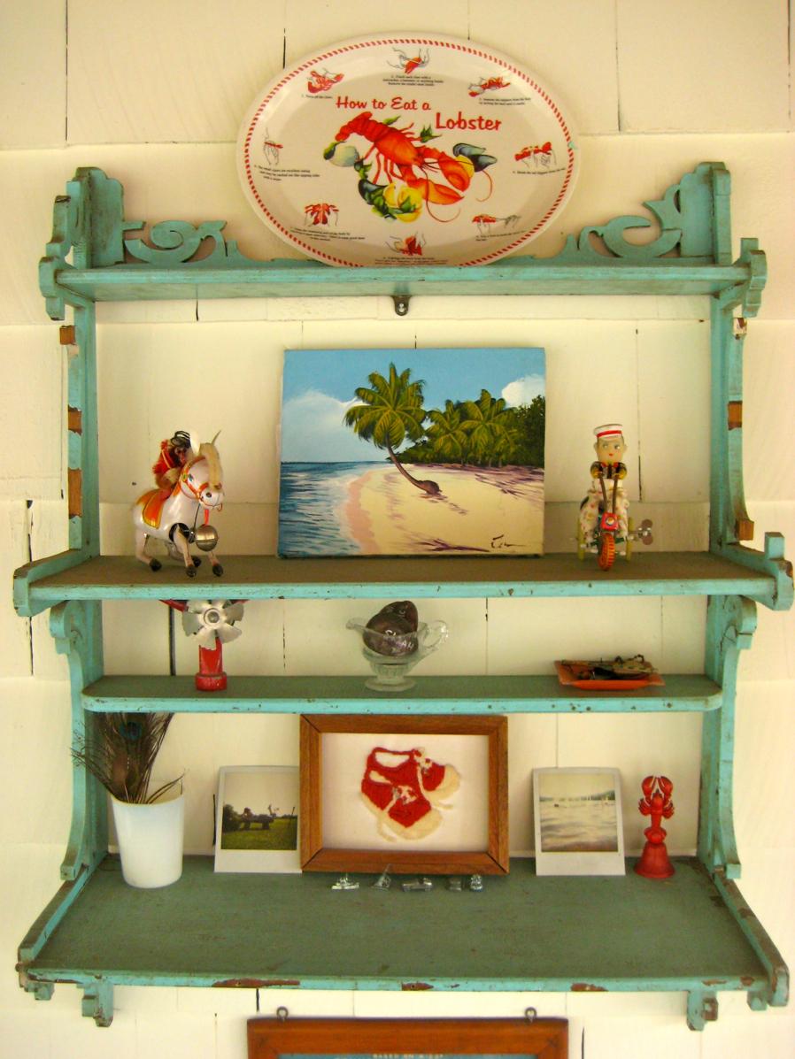 Turquoise Shelf