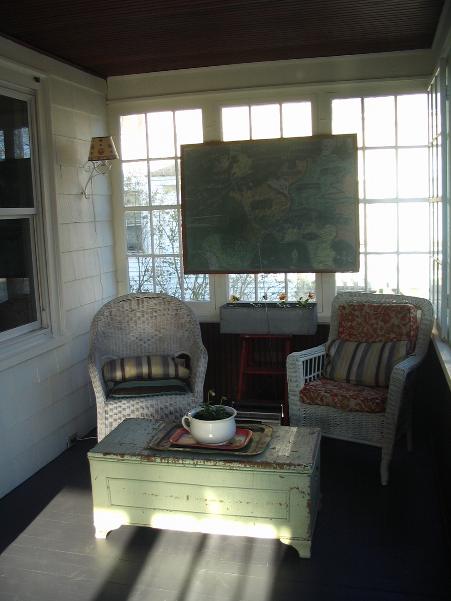 Early Version Sitting Area