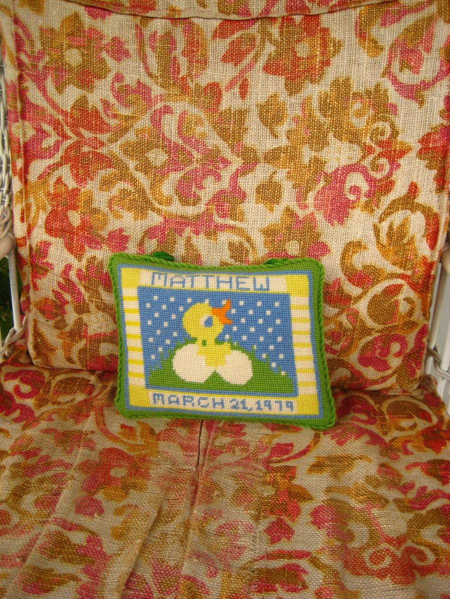 Matthew's Pillow