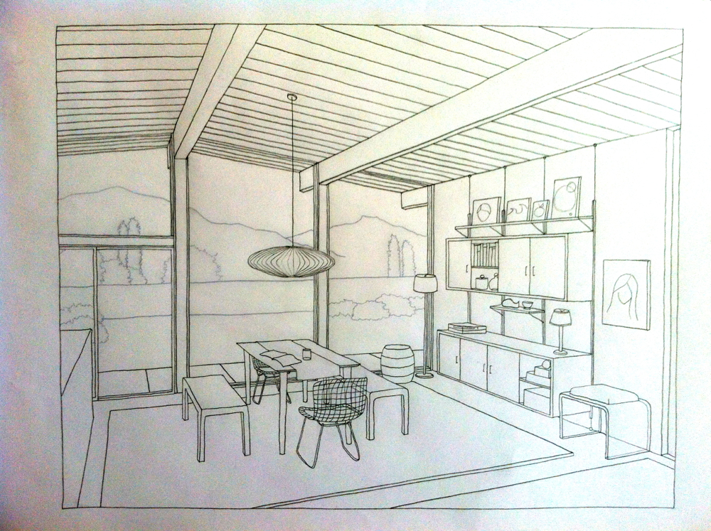 How to draw a treehouse small victories for Interior design room grid