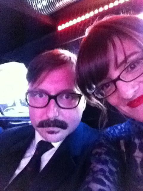John and Me in limo.jpg