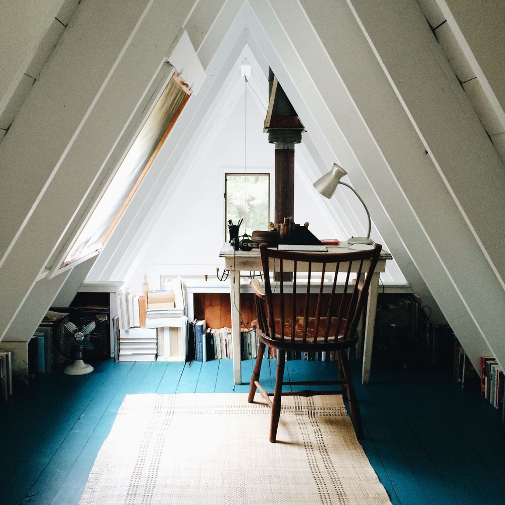 The writing loft.