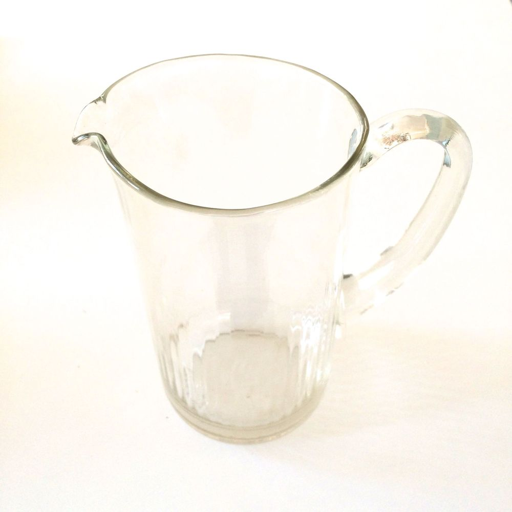 $2. Large vintage glass pitcher. Whatever.