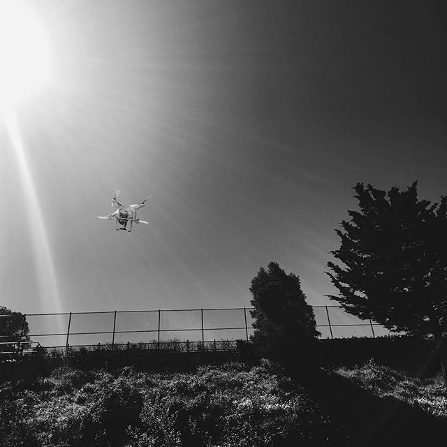 Had my first drone encounter! #thefutureisnow #drone #remembertolookup #vscocam #vsco