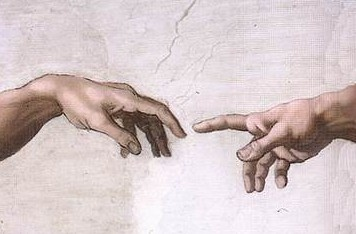 Excerpt from 'The Creation of Adam' - Michelangelo