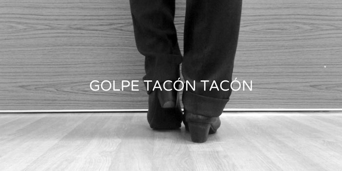 Golpe tacón tacón flamenco footwork technique | www.flamencobites.com
