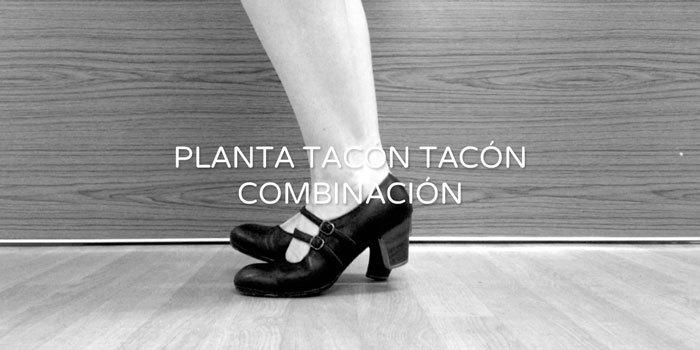 Planta tacón tacón combination | www.flamencobites.com