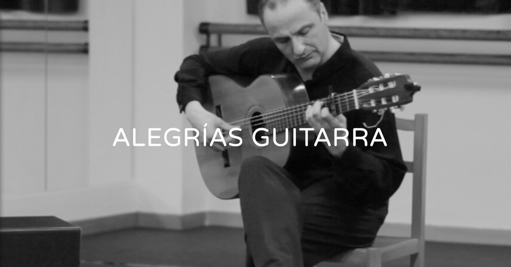 Demonstration of alegrías guitarra | flamencobites.com