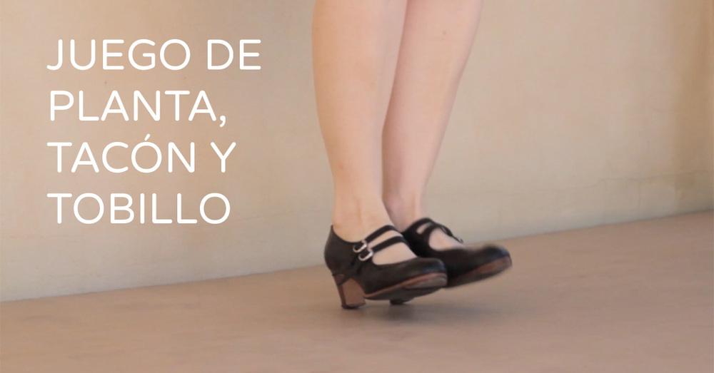 Flamenco footwork tecnique - planta, tacón and tobillo   flamencobites.com