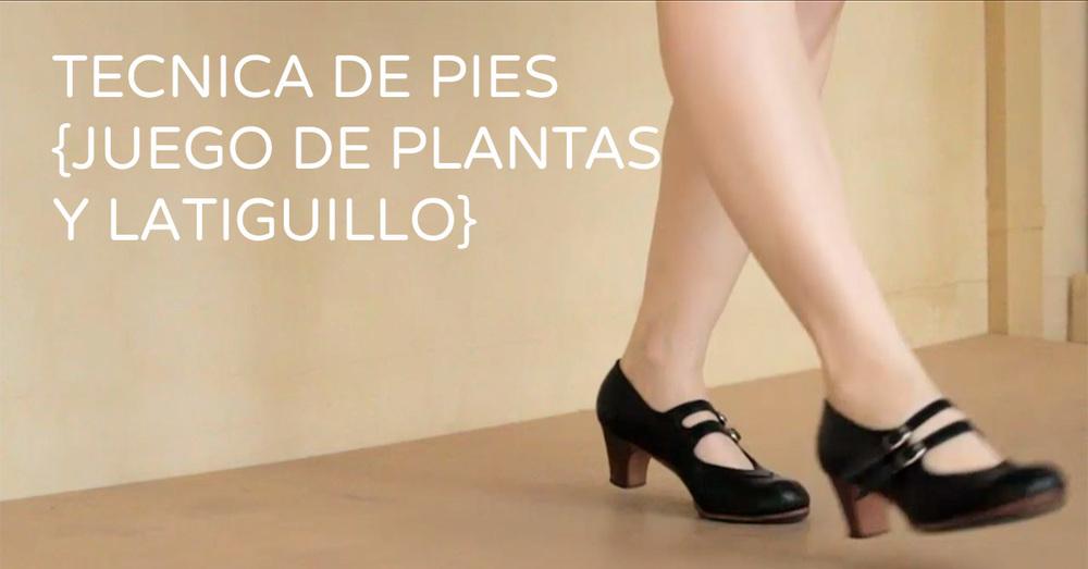 Flamenco footwork technique - Juego de plantas y latiguillo | www.flamencobites.com