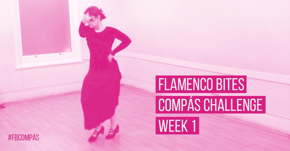 Flamenco Bites compás challenge - week 1 | www.flamencobites.com