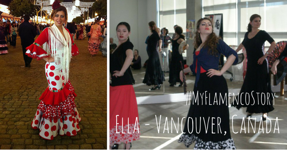 Ella - Vancouver, Canada - MyFlamencoStory | www.flamencobites.com