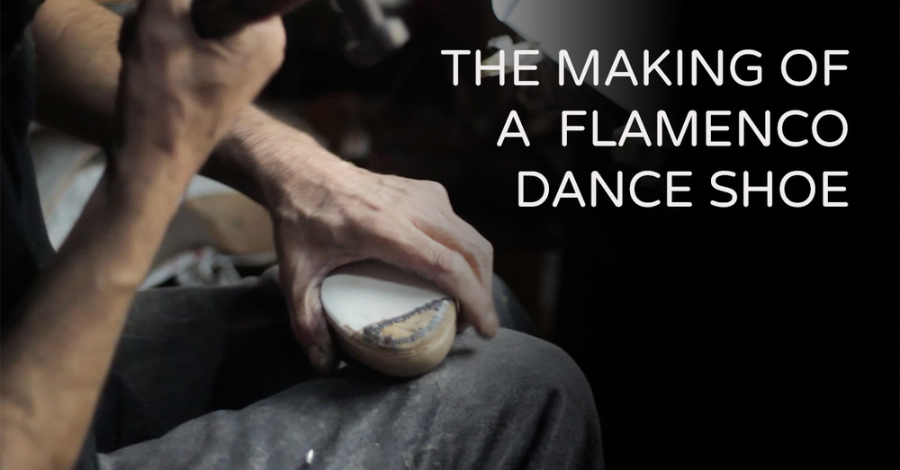 How is a flamenco dance shoe made? | www.flamencobites.com