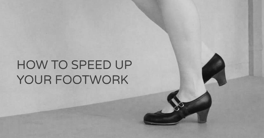 How to speed up your flamenco footwork | www.flamencobites.com