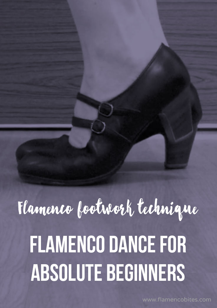 Flamenco dance for absolute beginners {flamenco footwork}  | www.flamencobites.com