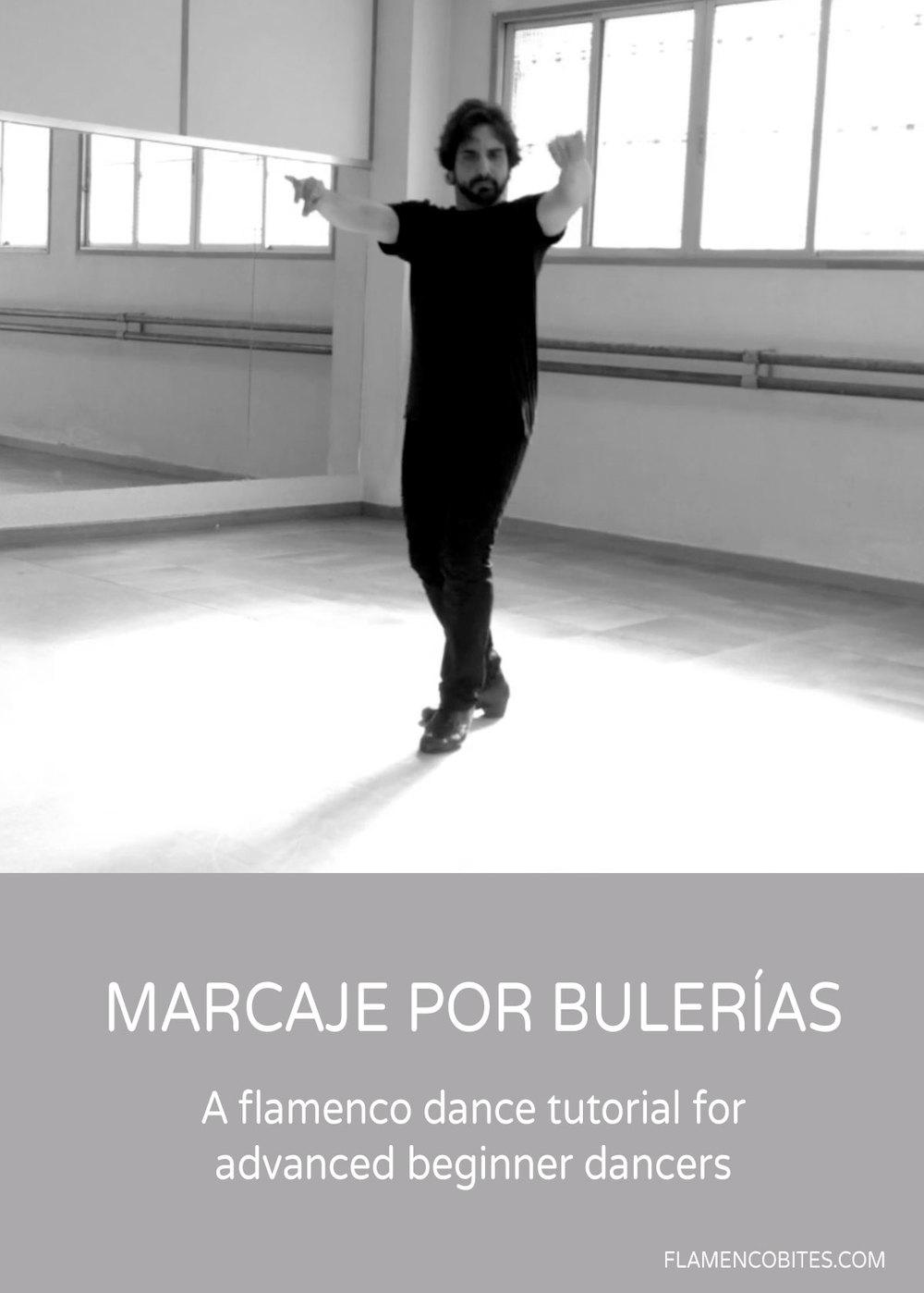 Marcaje por bulerias - Marking step for bulerias | flamencobites.com