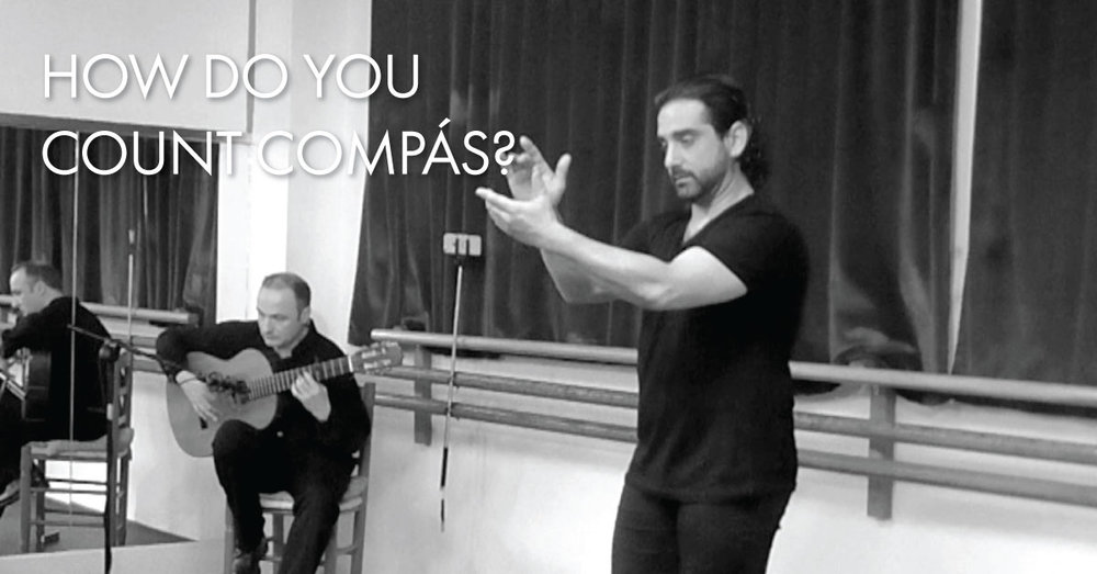 How do you count compás? | www.flamencobites.com