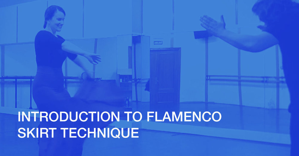 Discover the art of flamenco skirt technique with this short technique class from José Merino.